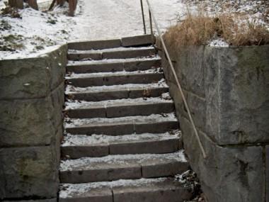 Stentrappa från Folkungagatan