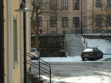 Norra trappan och gaveltrappa Malongen
