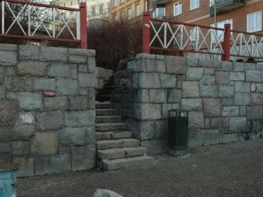 Ingång från Klevgränd (torget)