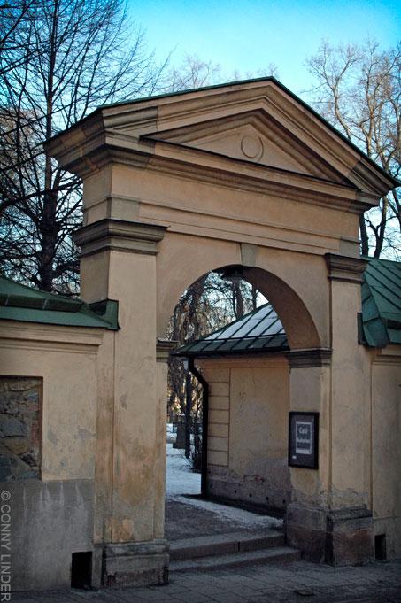 Västra ingången