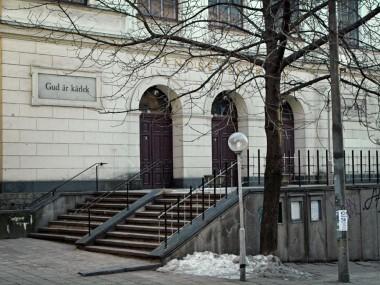 Ingång från Högbergsgatan 31