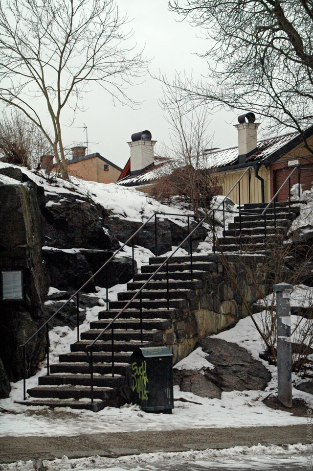 Borgmästargatan mot Mäster Pers gränd