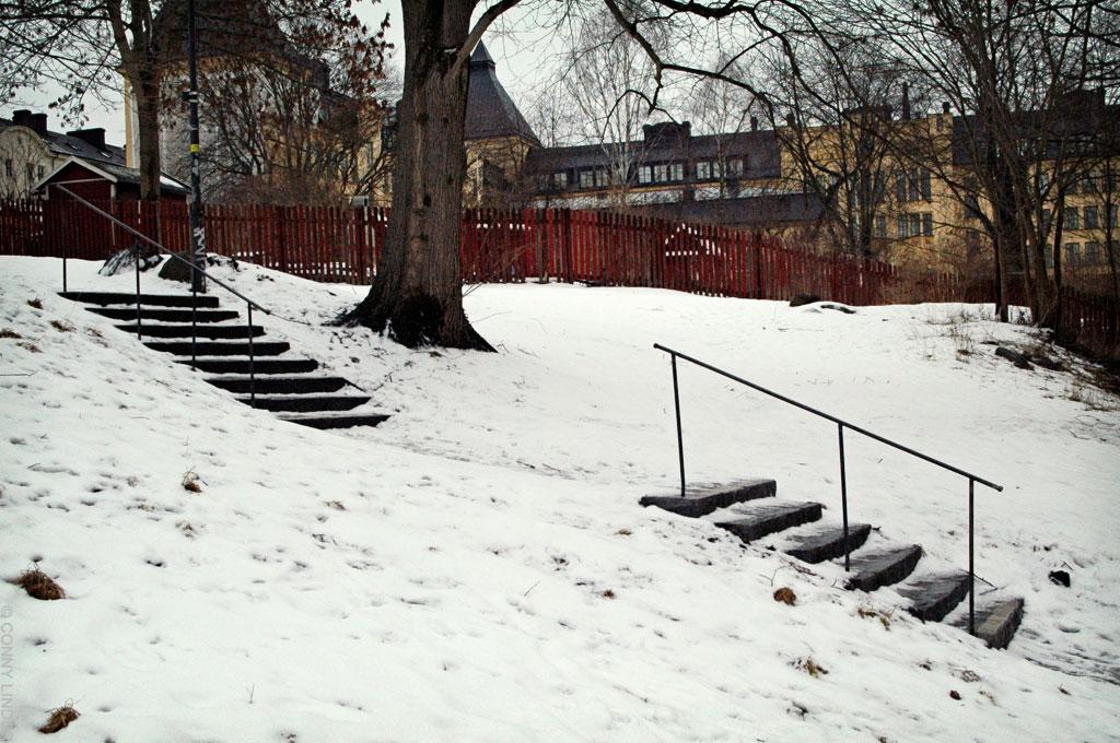 Tengdalsgatan 4 mot Stora Meiten Gränd