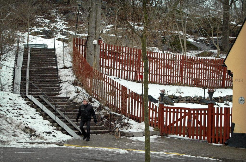 Gaveliusgatan mot Vita Bergsparken