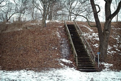 Vita Bergsparken mot friluftsteatern