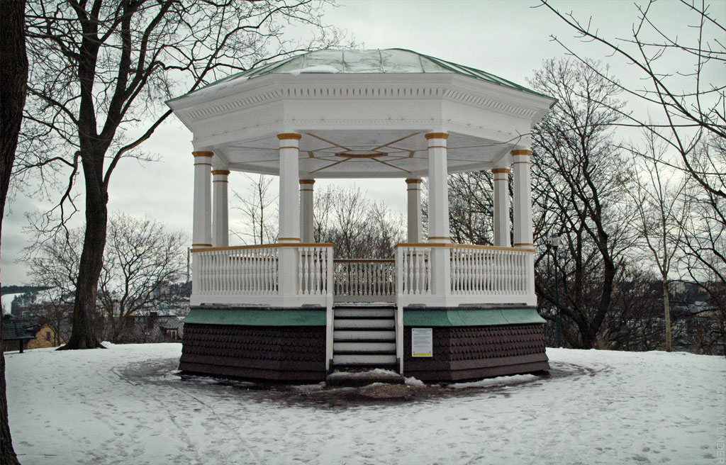 Paviljongen ovanför Friluftsteatern