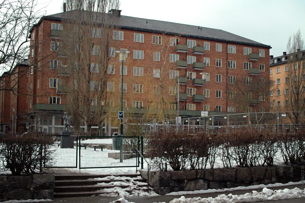 Från gatan Nytorget