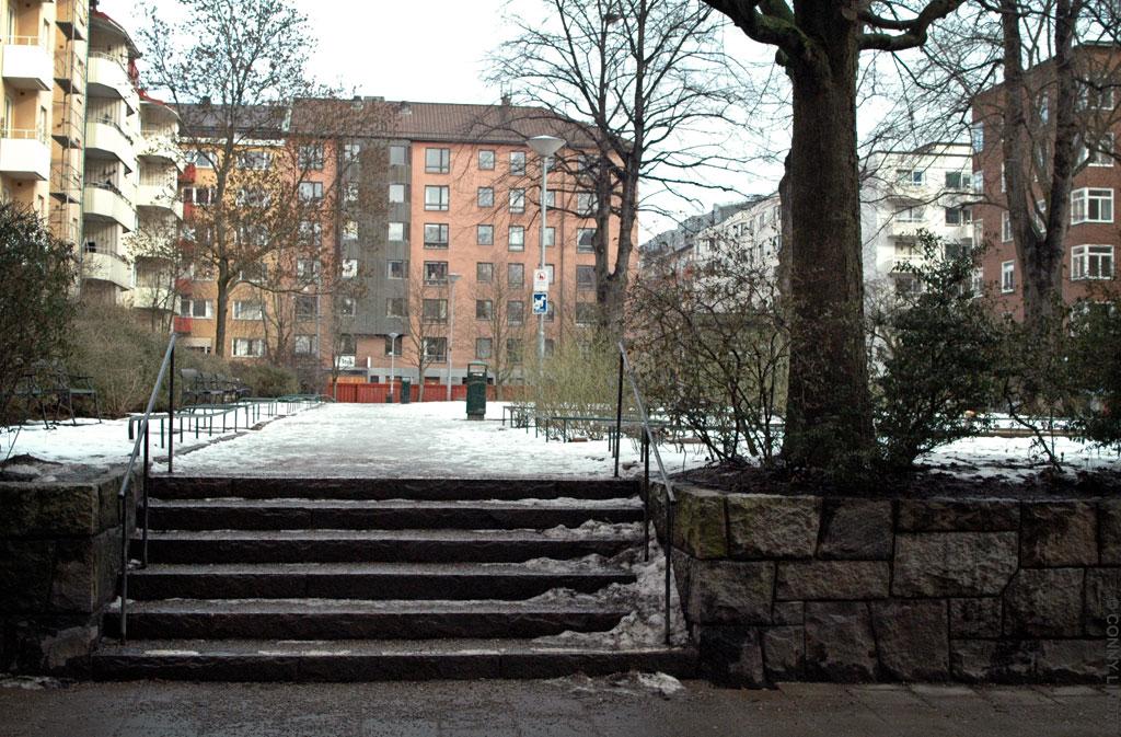 Ingång från Södermannagatan.
