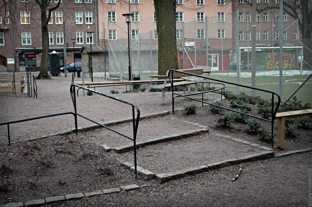 Parken Droskan