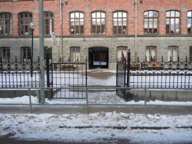 Öster ingång Tjärhovsgatan