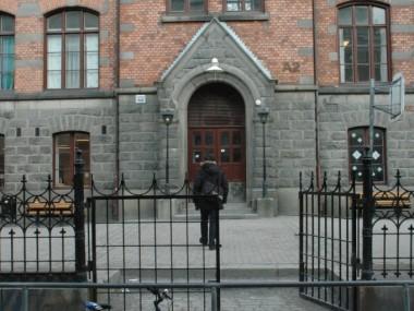 Väster ingång från Tjärhovsgatan